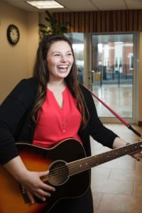 Kimberly Dolan. Accredited Music Therapist. Masters of Music Therapy. Kingston Ontario. Find Your Voice Music Therapy.
