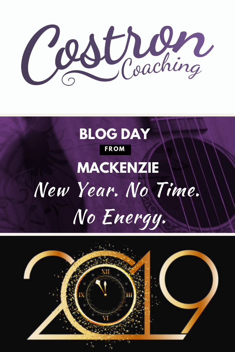 Costron Coaching. Mackenzie. Business Coaching. Entrepreneur. New Year. No Time. No Energy. Turtle Island. Canada.